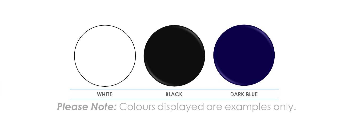 Please Note: Colours displayed are examples only